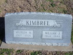 Matilda M. Kimbrel