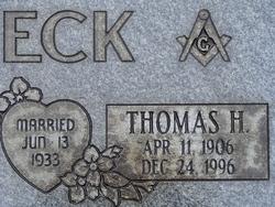 Thomas H Beck