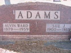 Sue Juanita Bever <i>Benninger</i> Adams