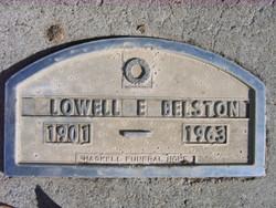 Lowell Elbert Belston