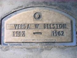 Verda <i>Workman</i> Belston