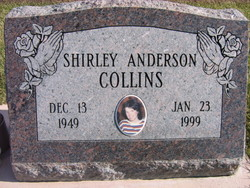Shirley June <i>Anderson</i> Collins