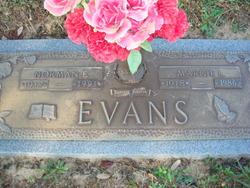 Norman Elvin Evans