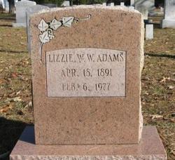 Elizabeth <i>Williams</i> Adams