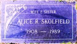 Alice Ruth <i>Wilson</i> Skolfield