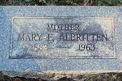 Mary E. <i>Miller</i> Albritten