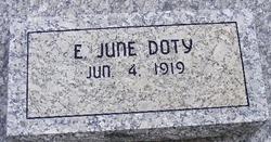E. June <i>Vanderhoof</i> Doty