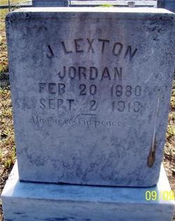 J. Lexton Jordan