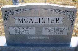 Thomas Edward McAlister
