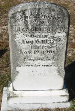 Elizabeth Martha <i>Zeigler</i> Gue