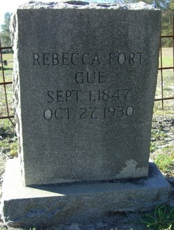 Rebecca Anna <i>Fort</i> Gue
