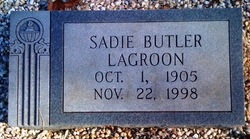Sadie Lois <i>Butler</i> Lagroon