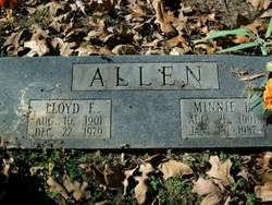 Minnie L Allen