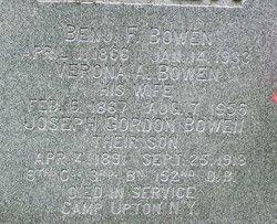 Joseph Gordon Bowen
