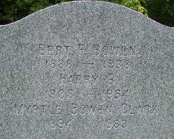 Bert F. Bowen