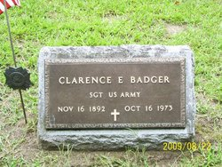 Clarence E. Badger
