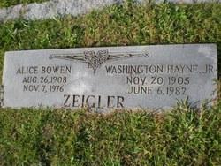 Mary Alice <i>Bowen</i> Zeigler