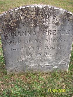 Susanna <i>Bowers</i> Freeze
