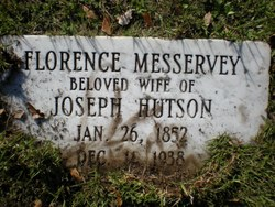 Florence Jane <i>Messervey</i> Hutson