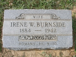 Irene W Burnside