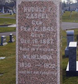 Wilhelmina <i>Gross</i> Zaspel