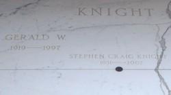 Stephen Craig Knight