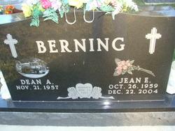 Jean E <i>Hartmann</i> Berning