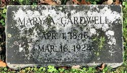 Mary A. <i>Griffey</i> Cardwell