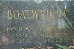 Annie C. Boatwright