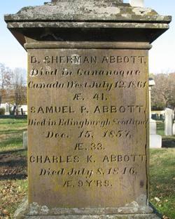 Charles K Abbott