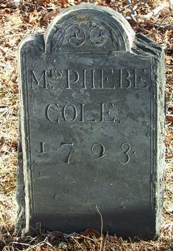 Phebe <i>Pierce</i> Cole