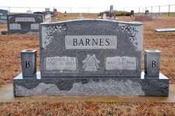 J. D. D Barnes