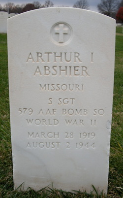Sgt Arthur I. Abshier