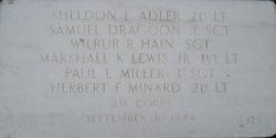 Lieut Sheldon L. Adler
