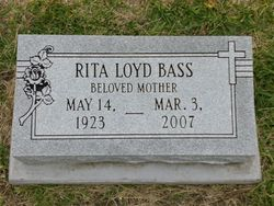 Rita Melvina Wee <i>Loyd</i> Bass