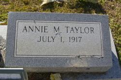 Annie <i>Mozingo</i> Taylor