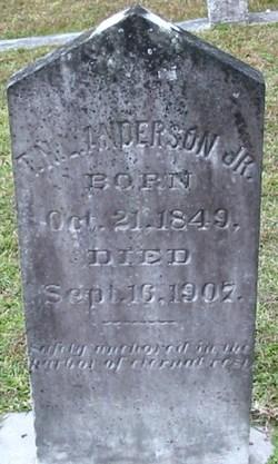 Thad N. Lafayette Anderson, Jr