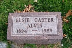 Elsie Ellen <i>Carter</i> Alvis