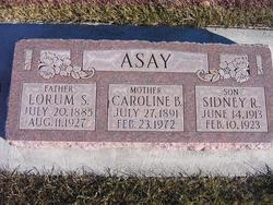 Caroline <i>Bradshaw</i> Asay