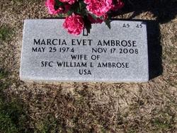 Marcia Evet <i>Williams</i> Ambrose