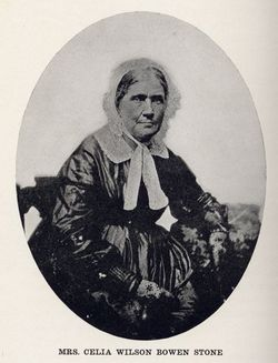 Celia Wilson <i>Bowen</i> Stone