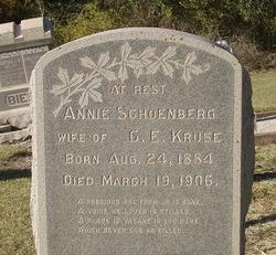 Annie <i>Schoenberg</i> Kruse
