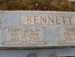 Bobby Joe Bennett, Sr