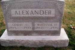 Adeline C. Addie <i>Stephenson</i> Alexander