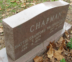 Mattie <i>Crawford</i> Chapman