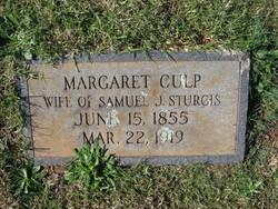 Margaret <i>Culp</i> Sturgis