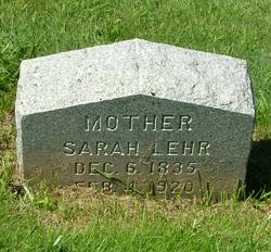 Sarah Lehr