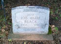 Lois <i>Miller</i> Black