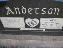 Ben Franklin Anderson