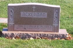 Louisa Anna Marie <i>Dickman</i> Ackerman